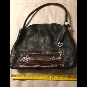 Brighton leather XL Shoulder bag FLAWLESS
